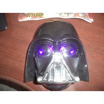 Mascara Lord Vader Com Luz Star Wars