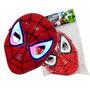 Brinquedo Mascara Homem Aranha Com Luzes P Crianças/ Adultos