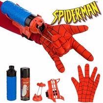 Lançador De Teia Ou Água Spider Man Luva Homem Aranha