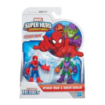 Playskool Heroes 2-pack - Spider-man & Green Goblin - Hasbro