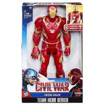 Homem De Ferro Iron Man Eletronico Fala Portugues Hasbro