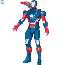 Boneco Iron Man 3 Figura 10 Eletrônico Homem De Ferro Herói