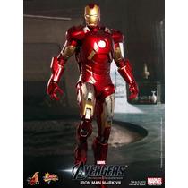 Hot Toys Iron Man Homem Ferro Mark Vii Avengers Vingadores