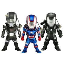 Boneco Iron Man 3 Led Earphone Plugy Machine Patriot Celular