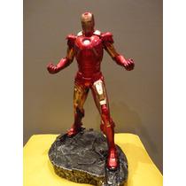 Homem De Ferro / Iron Man Em Resina