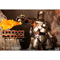 Hot Toys Iron Man Mark I 2.0 Tony Stark Avengers Vingadores