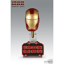Iron Man Bust - Sideshow 1:4 - Homem De Ferro - Mark 3
