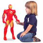 Boneco Marvel Homem De Ferro Gigante 60cm Iron Man - Mimo