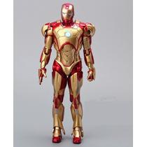 Homem De Ferro Os Vingadores Articulável - Iron Man 18cm
