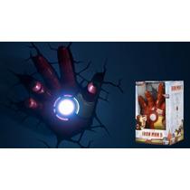 Luminária Mão Homem De Ferro 3 - 3d Light Fx