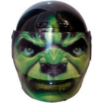 Capacete Personalizado Hulk - Os Vingadores - The Avengers