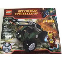 Lego Super Heroes Iron Man 60 Peças Blocos De Montar