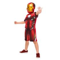 Fantasia Os Vingadores 2 - Homem De Ferro (p: 3 A 4 Anos)