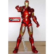 Boneco Iron Man Figma 217 Mark Vii By Max Factory