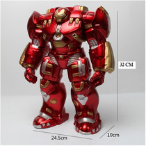 Boneco Hulk Buster Armadura Hulkbuster 32 Cm