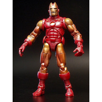 Iron Man Com Display - Marvel Legends - Series 1 - Toy Biz