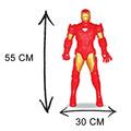 Homen De Ferro Iron Man 55 Cm Articulado Gigante Lançamento