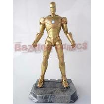 Homem De Ferro Armadura Midas - Estátua Em Resina 33 Cm
