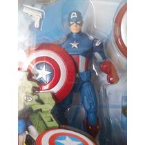 Capitão America - Hasbro - Vingadores - 11 Cm - Novo