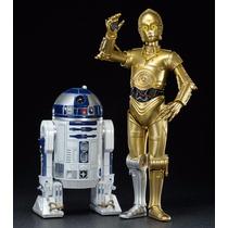 Kotobukiya Artfx Star Wars 1/10 C-3po & R2-d2 Pronta Entrega