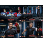 Hot Toys Iron Man Tony Stark (armor Teste) Ironman Workshop