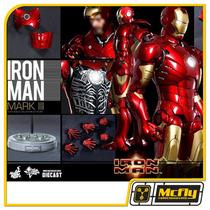 Hot Toys Iron Man Mark Iii 3 Diecast Mms256d07 Homem De Ferr