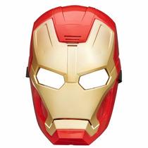 Máscara Eletrônica Homem De Ferro Iron Man Avengers Hasbro
