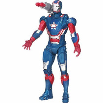 Brinquedo Boneco Homem De Ferro 3 26cm Iron Man Patriota