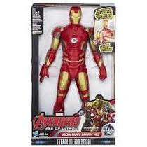 Boneco Iron Man Eletronico Avengers Hasbro