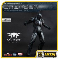 Comicave Iron Man 3 Shotgun Mark Xl 40 Diecast Metal 1/12