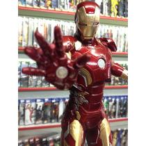 Estatua Resina Homem De Ferro (iron Man) Marvel Comics 34cm