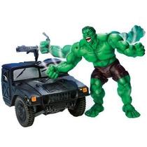 Hulk Smash & Crush - With Military Truck - Toy Biz - Marvel