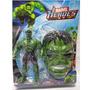 Boneco Hulk Mais Mascara Boneco Grande 25 Cm