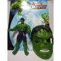 Boneco Hulk + Mascara Boneco Grande 25 Cm