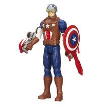 Capitão America Avengers Assemble Titan Hero Series - Hasbro