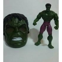 Boneco + Máscara Hulk Vingadores 25cm Boneco Grande
