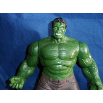 Boneco Incrível Hulk 25cm Da Marvel Hasbro 2012 Que Faz Sons