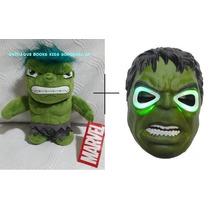 Incrivel Hulk Pelúcia + Máscara ( Os Vingadores )