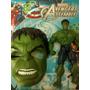 Boneco C/som E Luz 26cm + Mascara Hulk Avengers Envio 01 Dia