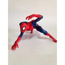 Boneco Homem Aranha (spider Man) Em Resina Pintado A Mão