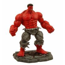 Boneco O Incrivel Hulk Vermelho Red Marvel Select Comics Dc