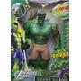 Boneco Do Hulk 35 Cm Emborrachado Com Luzes E Som De Batalha