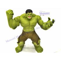 Hulk Boneco Mimo Premium 55cm Brinquedo Articulado Gigante