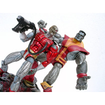 Lote Colossus + Deathlock- Marvel Legends - Toy Biz - Novos