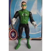 Boneco Lanterna Verde Liga Da Justiça 16 Cm. Articulado