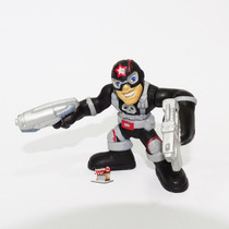 Justiceiro Homenagem Captain America Super Hero Squad Raro