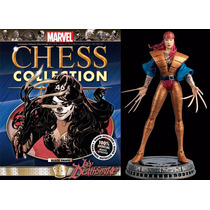 Miniatura 46 Lady Deathstrike - Marvel Chess - Bonellihq
