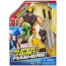 Boneco Wolverine Superhero Mashers - Hasbro