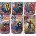 Boneco Wolverine Lanterna Verde The Flash Batmam Super