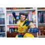 Xm Studios Wolverine On Sentinel Head Statue + Head Extra